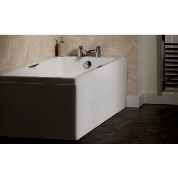 Carron Eco Integra Twin Grip Single Ended Carronite Bath 1500 x 700mm
