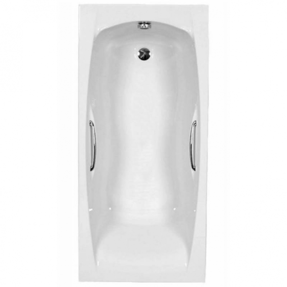 Carron Imperial Twin Grip Single Ended Carronite Bath 1700 x 700mm