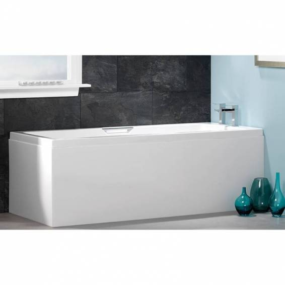 Carron Integra Single Grip Double Ended Carronite Bath 1700 x 750mm