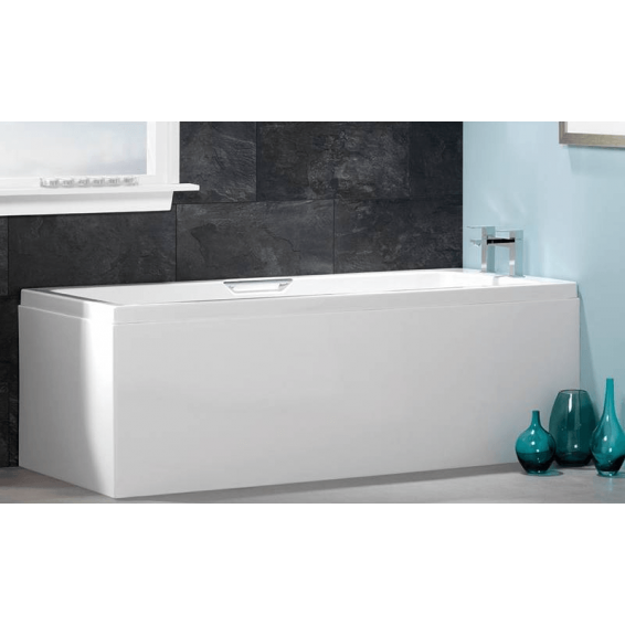 Carron Integra Twin Grip Single Ended Carronite Bath 1700 x 800mm