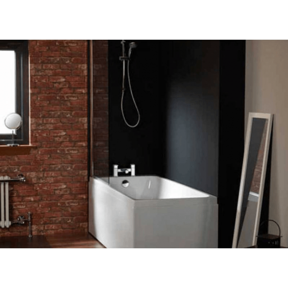 Carron Profile Single Ended Carronite Bath 1600 x 700mm