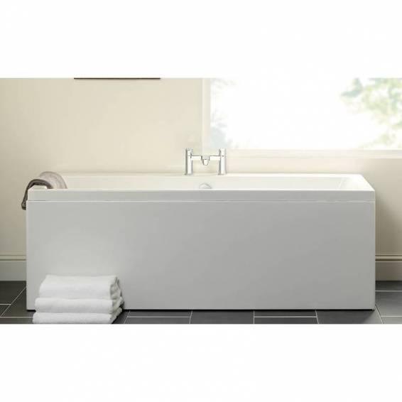 Carron Quantum Double Ended Carronite Bath 1800 x 800mm