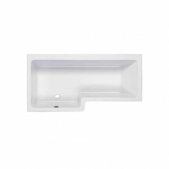 Carron Quantum Square Shower Carronite Bath 1600 x 700/850mm Left Hand