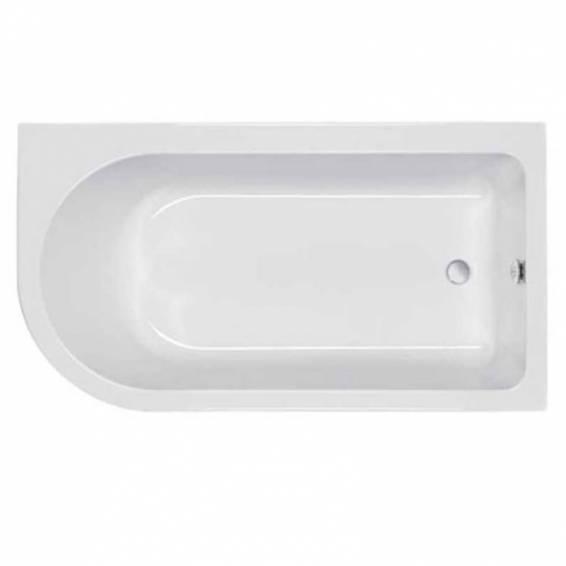 Carron Status Shower Carronite Bath 1550 x 850mm Left Hand