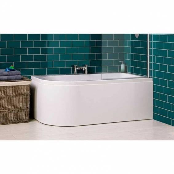 Carron Status Shower Carronite Bath 1550 x 850mm Right Hand