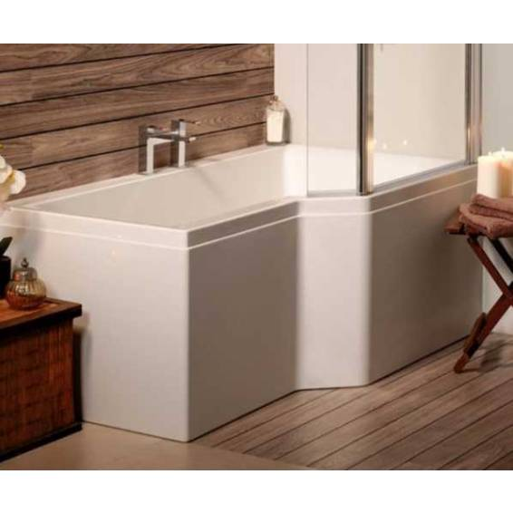 Carron Urban Edge Shower Bath 1675 x 700/850mm Right Hand