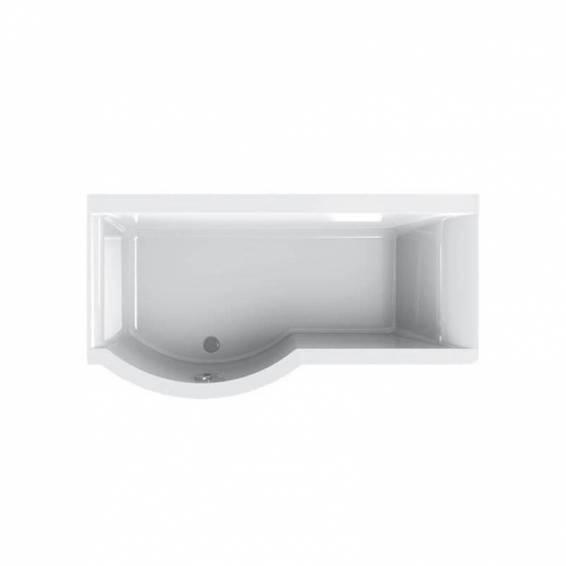 Carron Urban Shower Carronite Bath 1500 x 750/900mm Left Hand