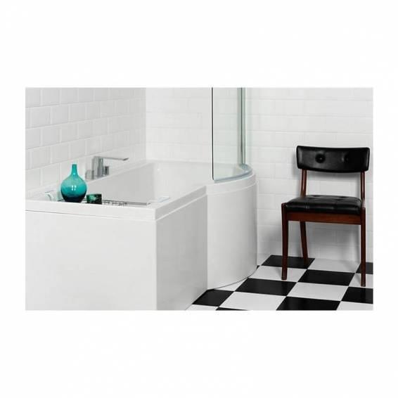 Carron Urban Shower Carronite Bath 1500 x 750/900mm Right Hand