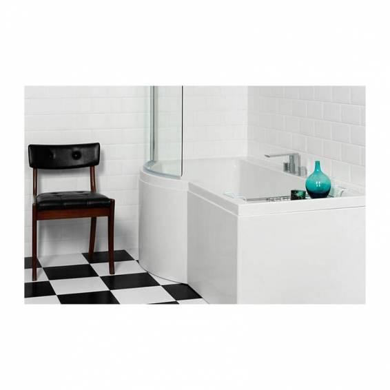 Carron Urban Shower Carronite Bath 1700 x 750/900mm Left Hand
