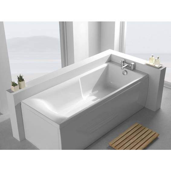 Carron Eco Matrix Single Ended Bath 1600 x 700mm