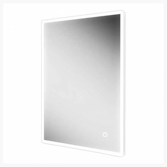 HIB Vega 60 Steam Free LED Mirror with Charging Socket 800 x 600mm