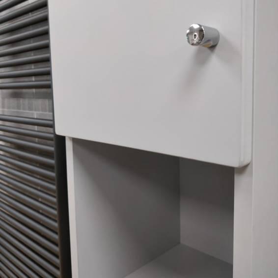 Ikoma Pearl Grey Matt Tall Unit 300mm