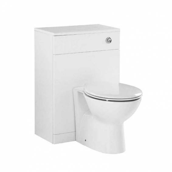 Ikoma Pearl Grey Matt WC Unit 550mm