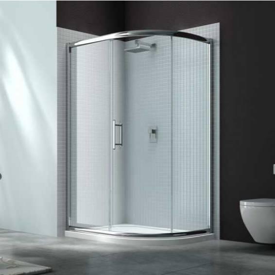 Merlyn 6 Series 1 Door Offset Quadrant Shower Enclosure 900 x 760mm