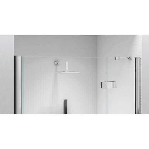 Merlyn 6 Series Frameless Hinge and Inline Shower Door 1400+mm