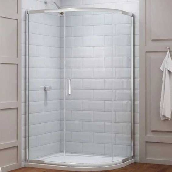 Merlyn 8 Series 1 Door Offset Quadrant Shower Enclosure 900 x 760mm