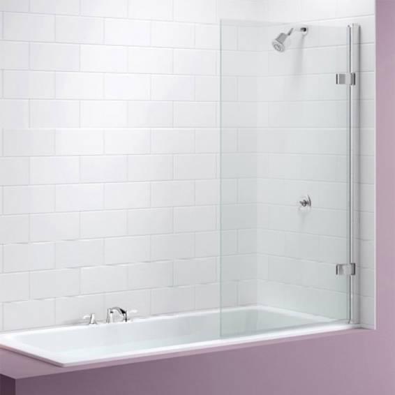 Merlyn Hinged Square MB6 Folding Bath Screen 850mm