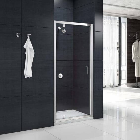 Merlyn MBox Pivot Shower Door 700mm