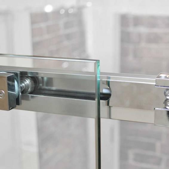 Roman Decem Sliding Shower Door Alcove Fitting Left Hand 1200mm