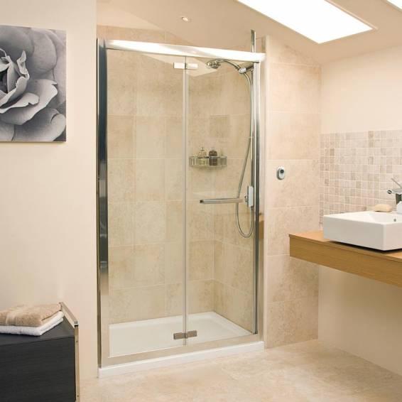 Roman Embrace Bi-Fold Shower Door 760mm