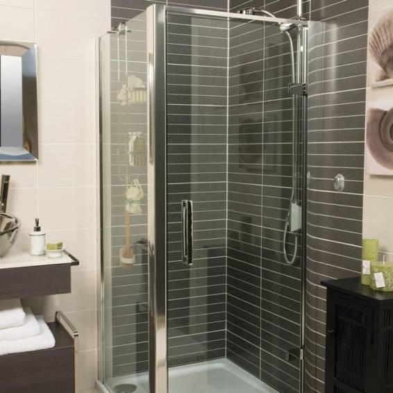 Roman Embrace Hinged Shower Door 760mm