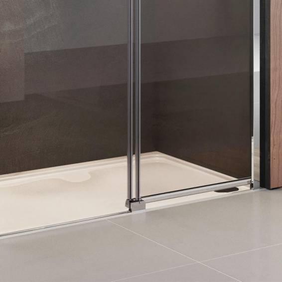 Roman Lumin8 Level Access Sliding Shower Door Left Hand 1000mm