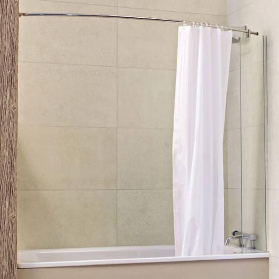 Roman Lumin8 Mini Fixed Panel Bath Screen