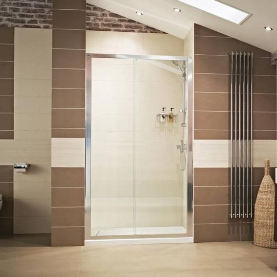 Roman Lumin8 Sliding Shower Door 1000mm