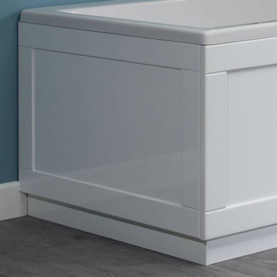 Roper Rhodes 800 Series 700mm Gloss White Bath End Panel