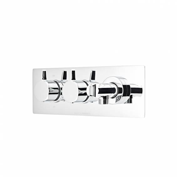 Roper Rhodes Aim Thermostatic Dual Function Recessed Shower Valve with Outlet