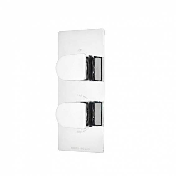 Roper Rhodes Code Thermostatic Dual Function Recessed Shower Valve
