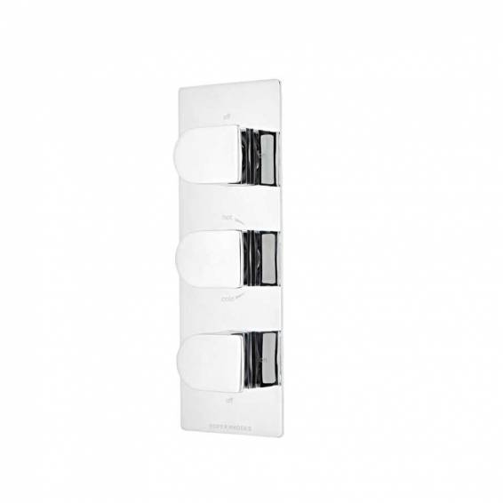 Roper Rhodes Code Thermostatic Triple Function Recessed Shower Valve