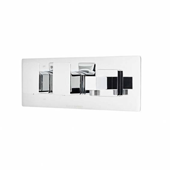 Roper Rhodes Elate Thermostatic Dual Function Recessed Shower Valve with Outlet