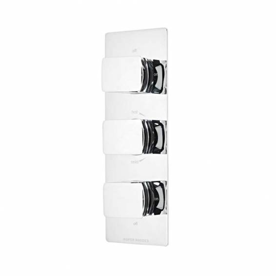 Roper Rhodes Elate Thermostatic Triple Function Recessed Shower Valve