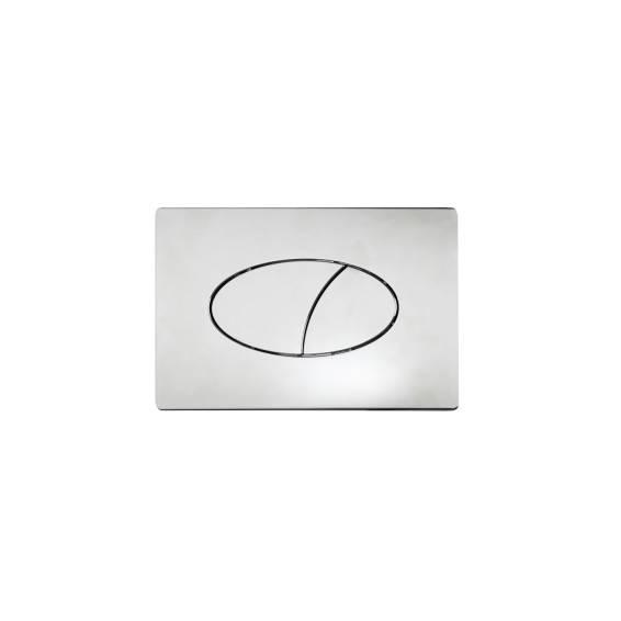 Roper Rhodes Ellipse Dual Flush Plate Chrome