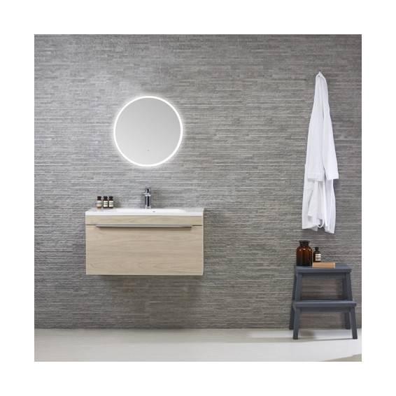 Roper Rhodes Eminence Circular Illuminated Bathroom Mirror 550mm