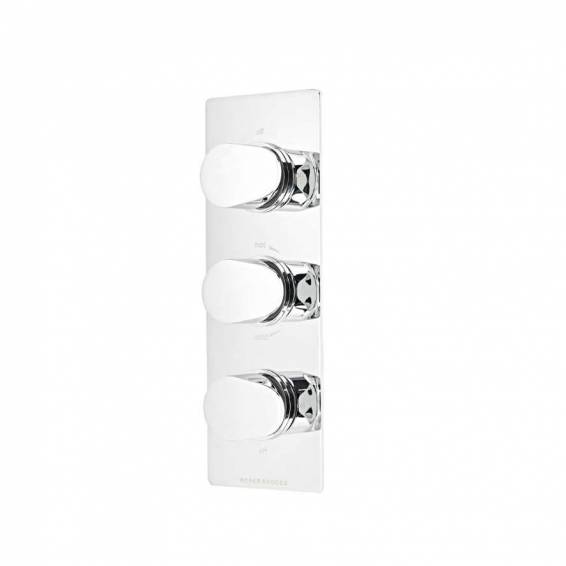Roper Rhodes Image Thermostatic Triple Function Recessed Shower Valve