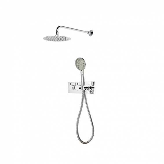 Roper Rhodes Insight Dual Function Shower System with Fixed Shower head & Handset