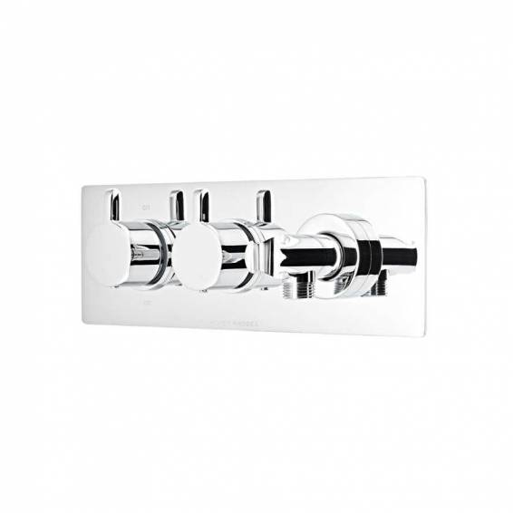 Roper Rhodes Insight Thermostatic Dual Function Recessed Shower Valve with Handset Outlet