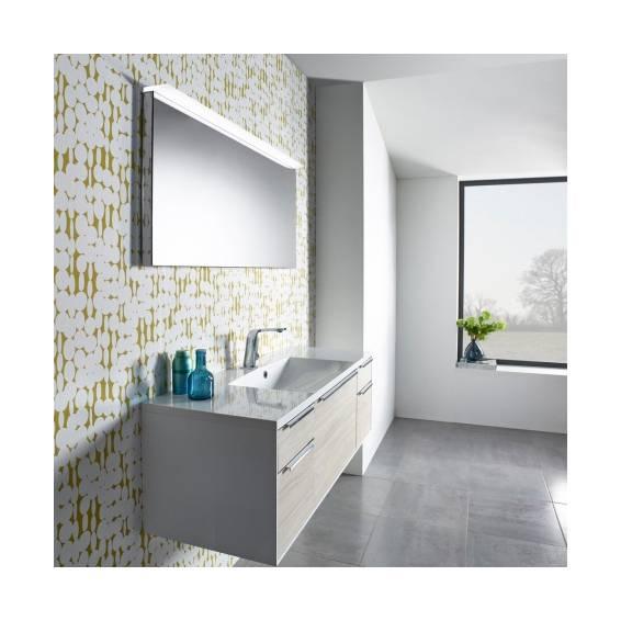 Roper Rhodes Peak Illuminated Bathroom Mirror 1200mm