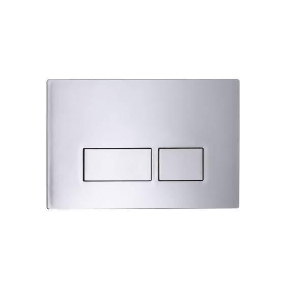 Roper Rhodes Plaza Dual Flush Plate Chrome