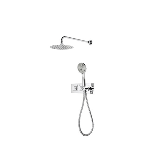 Roper Rhodes Poise Dual Function Shower System with Fixed Shower head & Handset