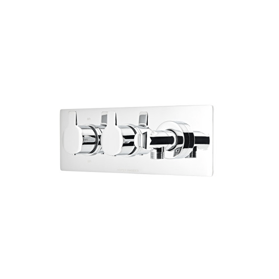 Roper Rhodes Poise Thermostatic Dual Function Recessed Shower Valve with Handset Outlet