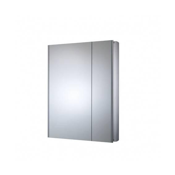 Roper Rhodes Refine Slimline Double Door Aluminium Bathroom Cabinet 615mm