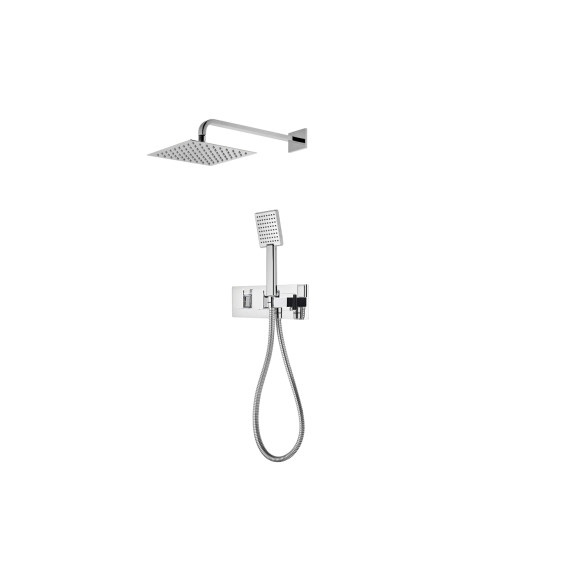 Roper Rhodes Sign Dual Function Shower System with Fixed Shower head & Handset