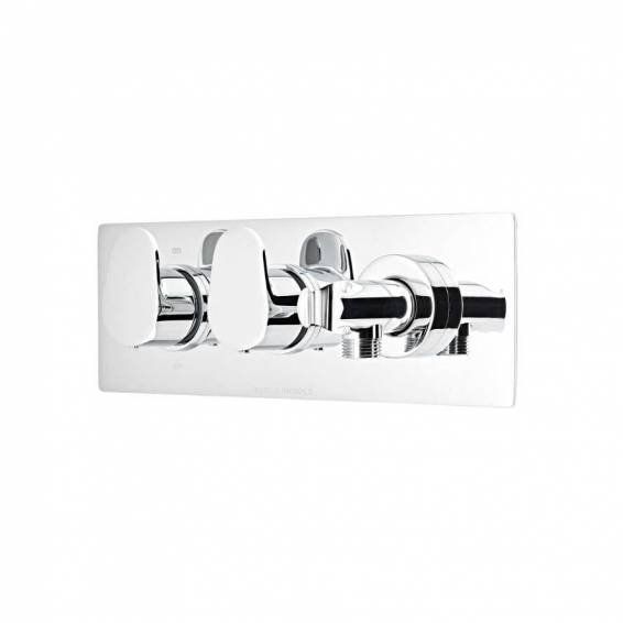 Roper Rhodes Stream Thermostatic Dual Function Recessed Shower Valve with Handset Outlet
