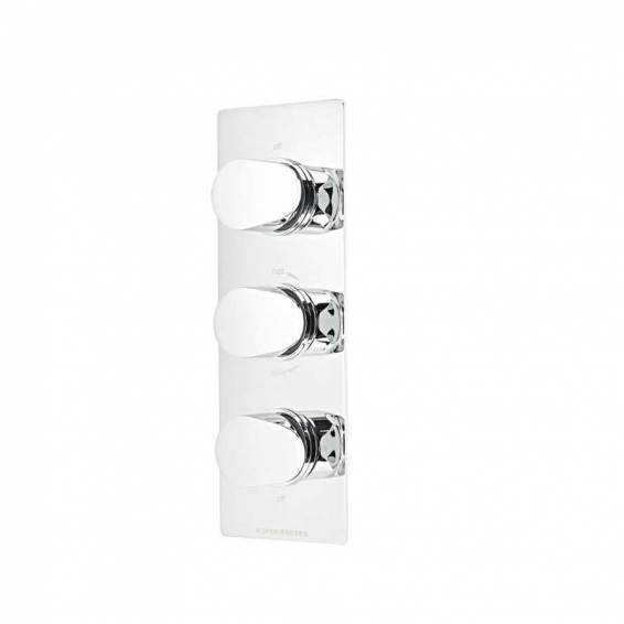 Roper Rhodes Stream Thermostatic Triple Function Recessed Shower Valve