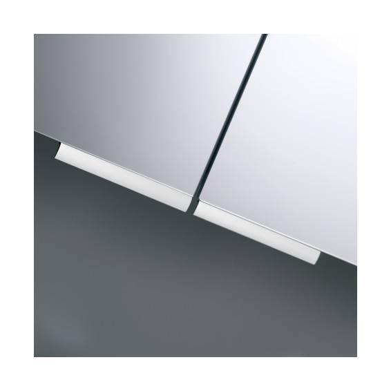 Roper Rhodes Summit Double Door Aluminium Bathroom Cabinet 654mm