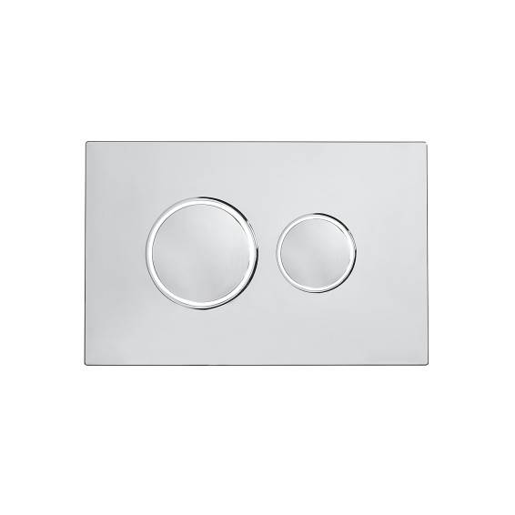 Roper Rhodes Traditional Dual Flush Plate Chrome