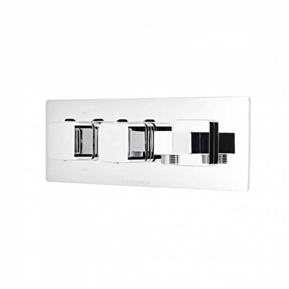 Roper Rhodes Veer Thermostatic Dual Function Recessed Shower Valve with Outlet